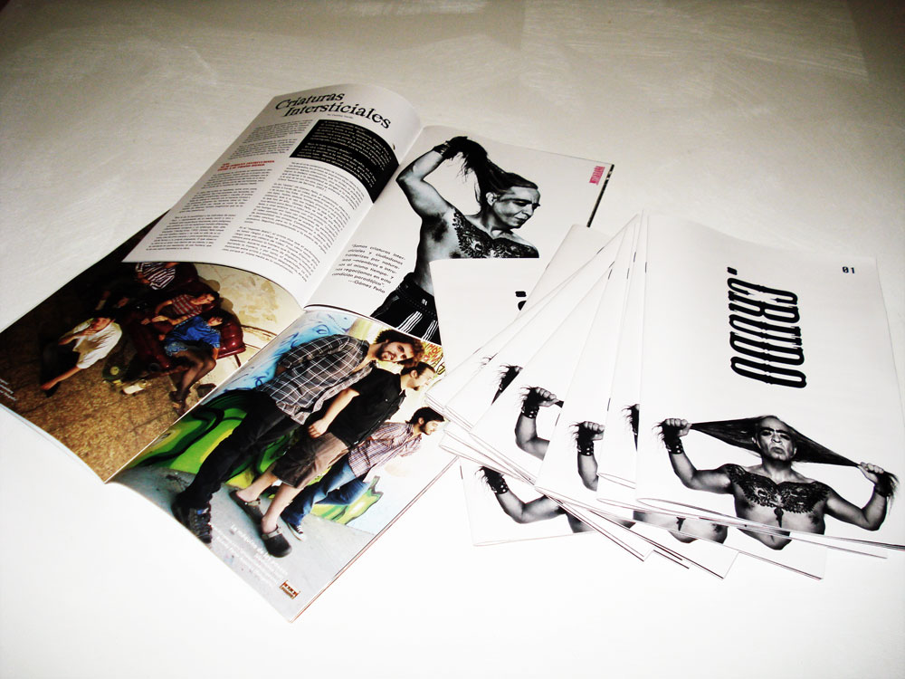 .Crudo - First print edition. Photo by Arnaldo Román. Trance Líquido.